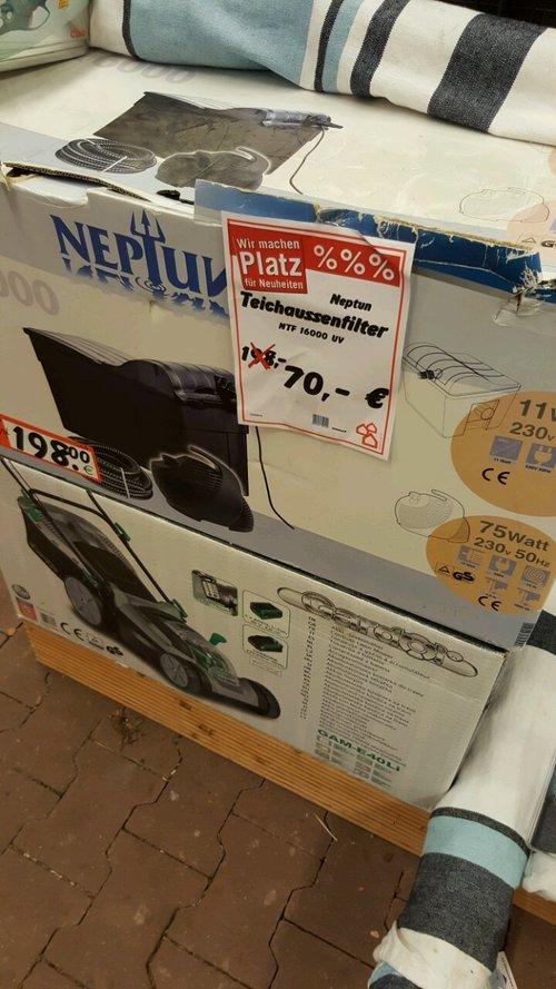NTF 16000 Teichaussenfilter Neptun - jetzt 65% billiger