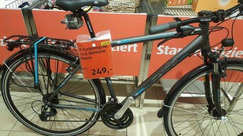 Cyco Herren-Trekkingrad 28 Zoll, 24 Gänge - jetzt 17% billiger