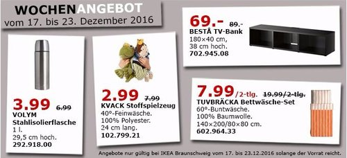BESTA TV-Bank 180x40 cm, 38 cm hoch - jetzt 22% billiger