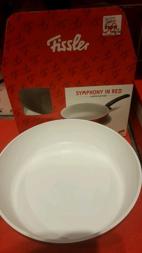 Fissler Pfanne Symphony in Red 24 cm - jetzt 37% billiger