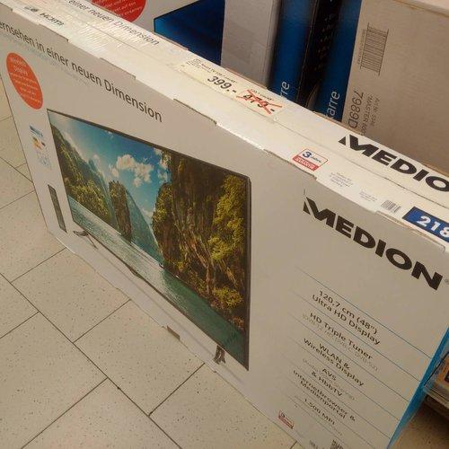 UHD Smart TV 48 Zoll, HD Triple Tuner - jetzt 17% billiger