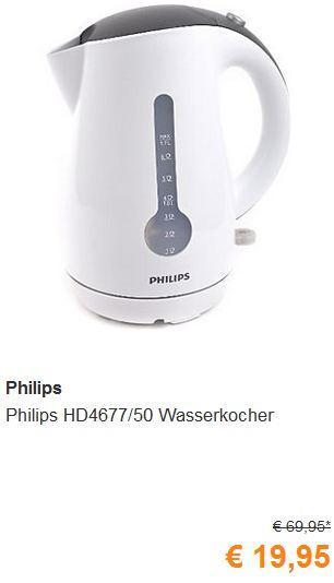 Philips HD4677/50 Wasserkocher  - jetzt 71% billiger