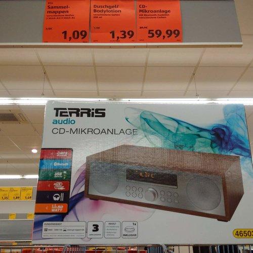 Terris CD-Mikroanlage - jetzt 33% billiger