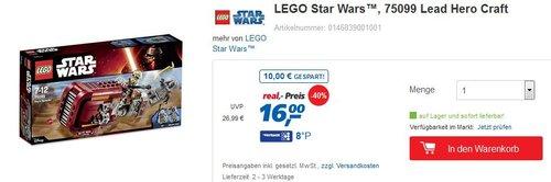 LEGO Star Wars 75099 - jetzt 41% billiger