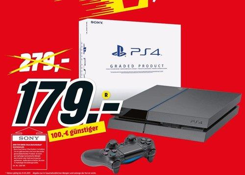 PlayStation 4 - Konsole 500GB, generalüberholt - jetzt 36% billiger