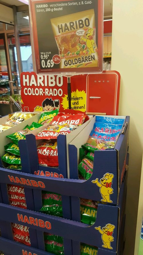 Haribo - jetzt 27% billiger