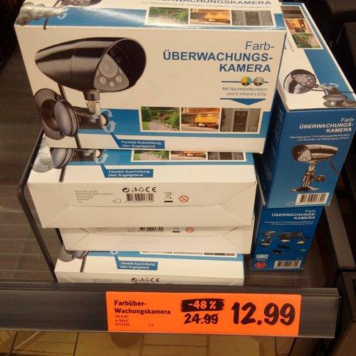 Farb-Überwachungskamera - jetzt 48% billiger