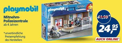PLAYMOBIL 5299 - Mitnehm-Polizeizentrale - jetzt 41% billiger
