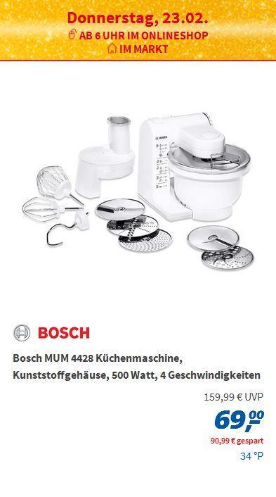 Bosch MUM 4428 - jetzt 57% billiger