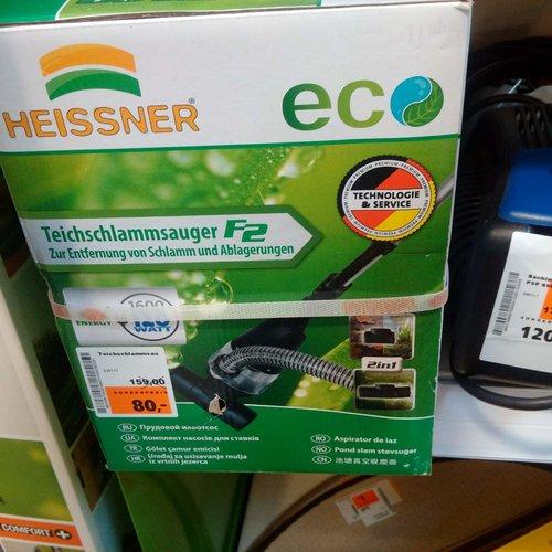 Heissner Teichschlammsauger F2 - jetzt 50% billiger
