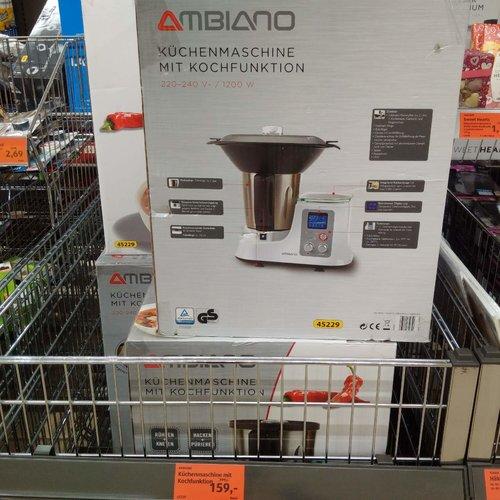 Küchenmaschine inkl. Zubehör, 2L - jetzt 20% billiger