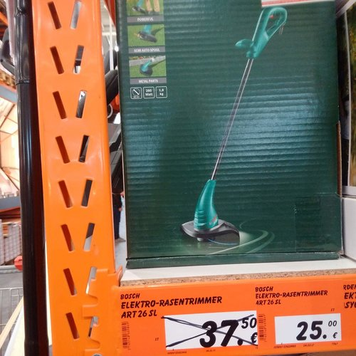 Bosch DIY Rasentrimmer ART 26 SL - jetzt 33% billiger