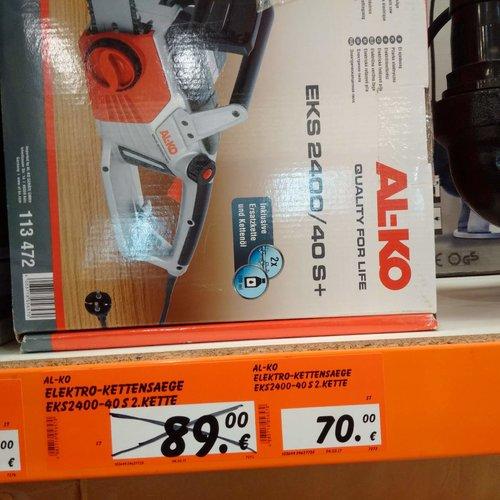 AL-KO Elektro-Kettensäge EKS 2400-40 - jetzt 22% billiger