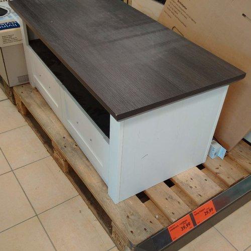 Lowboard Langhaus, Maße ca.: 107 x 47 x 54 cm - jetzt 56% billiger