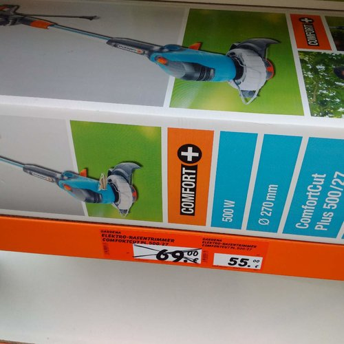 Gardena ComfortCut Plus 500/27 - jetzt 20% billiger