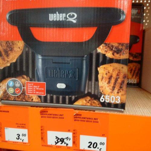 Weber Grill out Grifflicht - jetzt 50% billiger