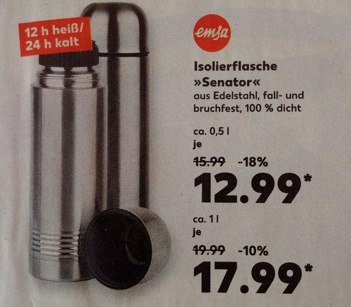 """emsa Isolierflasche """"Senator"""" 500 ml, Edelstahl - jetzt 19% billiger"""