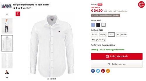 Hilfiger Denim Hemd »Sabim Shirt« - jetzt 49% billiger