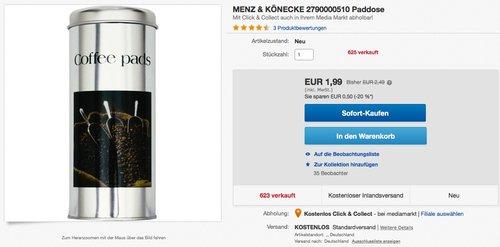 MENZ & KÖNECKE Paddose - jetzt 20% billiger