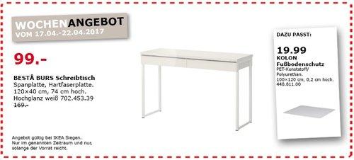 IKEA BESTA BURS Schreibtisch - jetzt 41% billiger