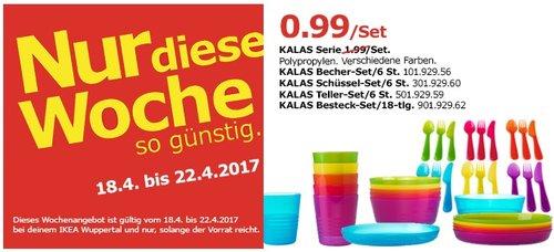 IKEA KALAS Geschirr Serie Set - jetzt 50% billiger