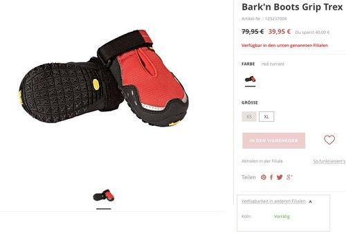 Barkn Boots Grip Trex, XL - jetzt 50% billiger