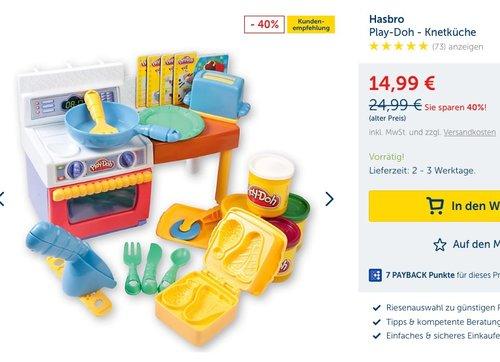 Play-Doh Küche - Knetset - jetzt 40% billiger