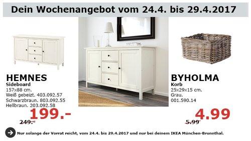 HEMNES Sideboard, 157x88 cm. - jetzt 20% billiger