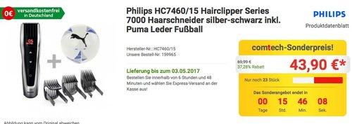 Philips HC7460/15 Haarschneider - jetzt 37% billiger