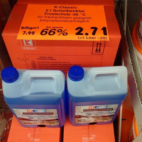Scheibenklar Frostschutz 5 L - jetzt 66% billiger