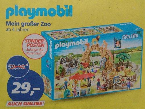 PLAYMOBIL 6634 - Mein großer Zoo - jetzt 52% billiger
