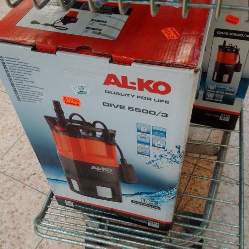 AL-KO Tauchdruckpumpen Dive 5500/3 - jetzt 56% billiger