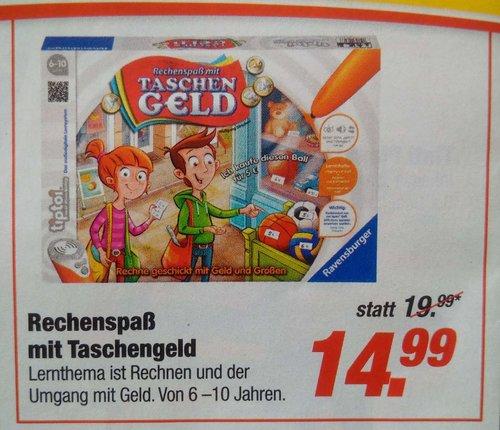 """Ravensburger 00779 - """"Rechenspaß mit Taschengeld"""" tiptoi Spiel - jetzt 25% billiger"""