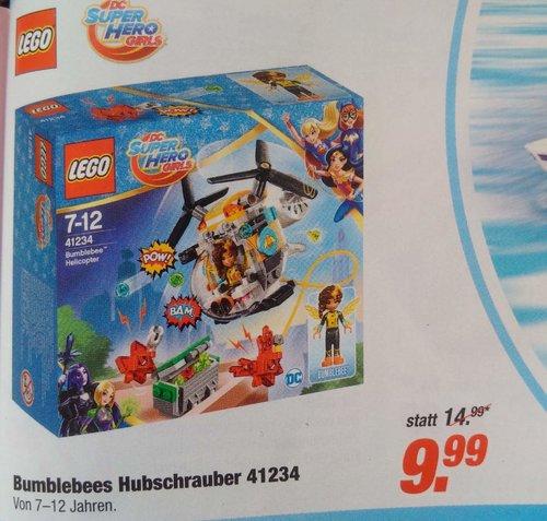 LEGO DC Super Hero Girls - 41234 Bumblebees Hubschrauber - jetzt 33% billiger
