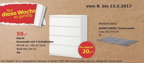 IKEA MALM Kommode - jetzt 25% billiger