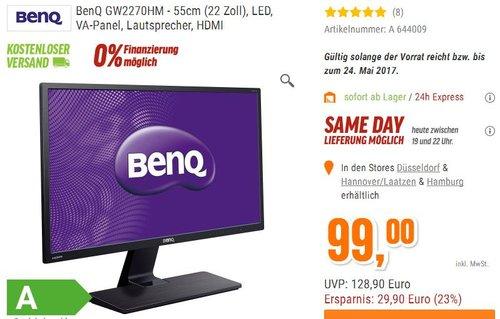 BenQ GW2270HM - jetzt 17% billiger
