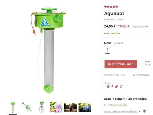 Aquabot Sprühaufsatz - jetzt 20% billiger