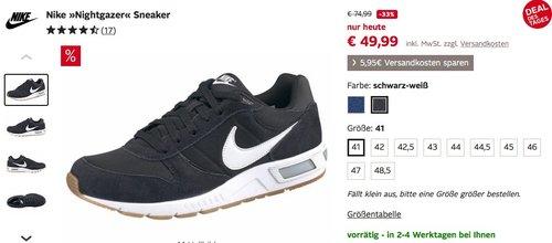 Nike Herren Sneaker Nightgazer - jetzt 33% billiger