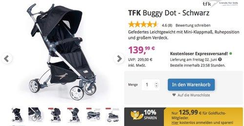 TFK Buggy Dot - Schwarz - jetzt 21% billiger