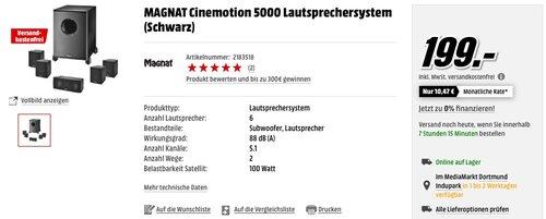 Magnat Cinemotion 5000 - jetzt 23% billiger