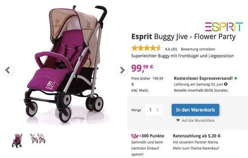 Esprit Buggy Jive - Flower Party - jetzt 17% billiger