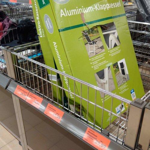 GARDENLINE Aluminium - Klappsessel - jetzt 25% billiger