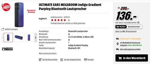 ULTIMATE EARS MEGABOOM - jetzt 32% billiger