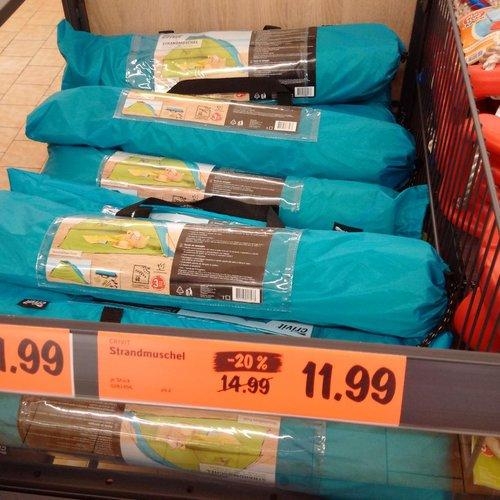Strandmuschel - jetzt 20% billiger