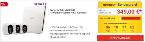 Netgear Arlo VMS3330-100EUS Smart Home 3 HD-Überwachung - jetzt 12% billiger