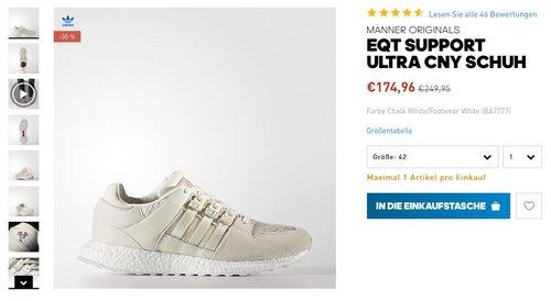 adidas Herren Schuhe adidas EQT Support Ultra Chinese New Year - jetzt 13% billiger