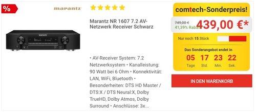 Marantz NR 1607 7.2 AV-Netzwerk Receiver - jetzt 10% billiger