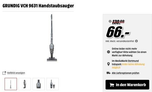 Handstaubsauger Grundig VCH 9631 - jetzt 39% billiger
