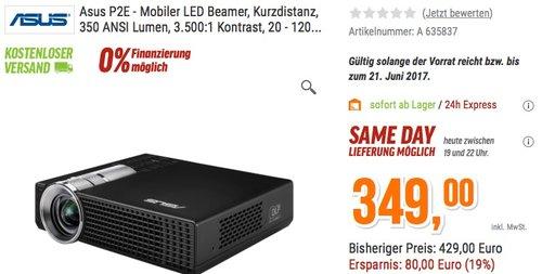 Asus P2E  LED-Beamer - jetzt 19% billiger