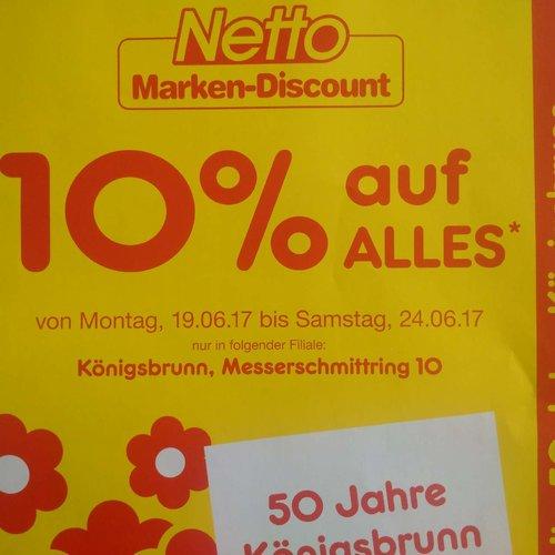 10 Prozent Rabatt auf fast alles - jetzt 10% billiger